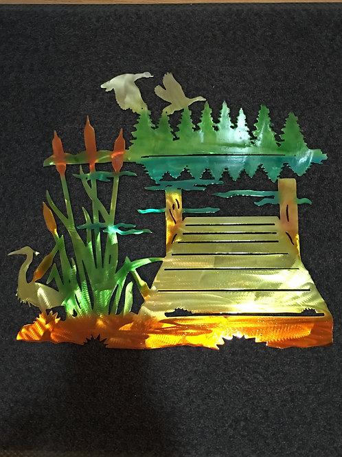 Dock on the Water Scene