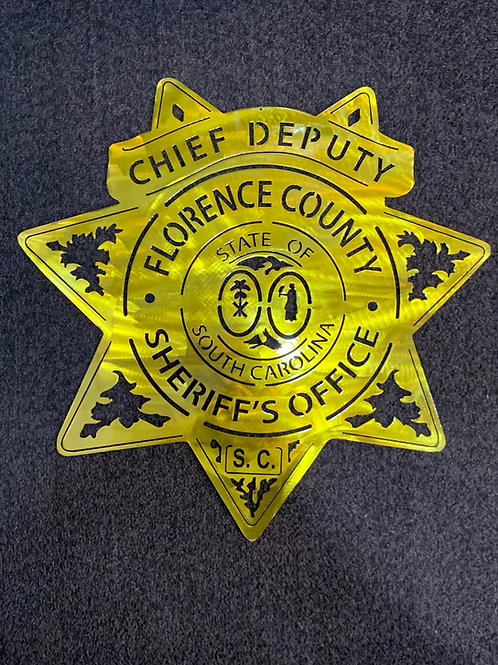 Florence County Sheriffs Badge