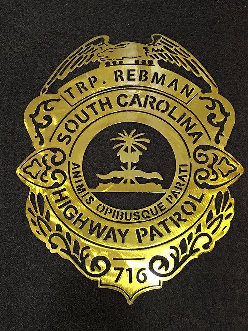 SC Highway Patrol Badge