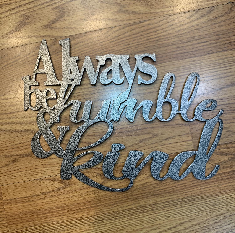 Thumbnail: Always be Humble & Kind