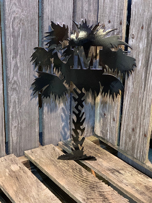 Decorative Palmetto Tree with Moon or With out the Moon