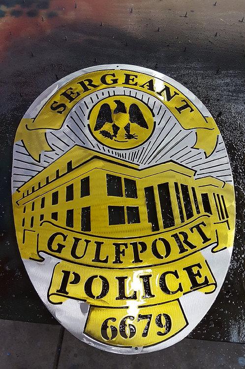Gulfport Police Badge