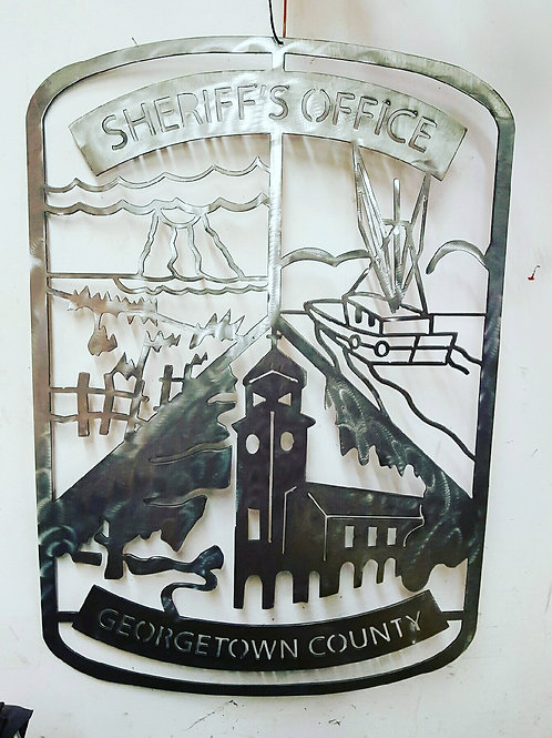 Georgetown County Sheriff's Office Patch