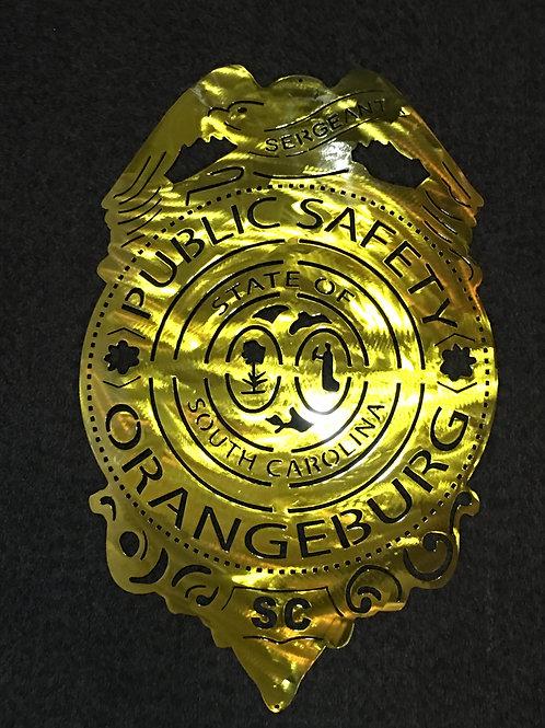 Orangeburg Public Safety Badge