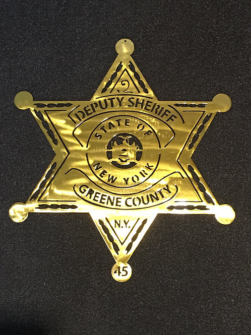 Greene County State of New York Badge
