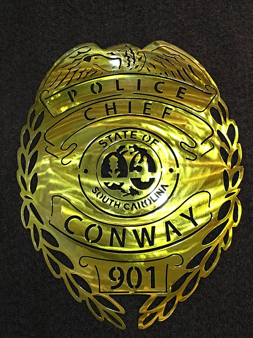Conway Police Badge