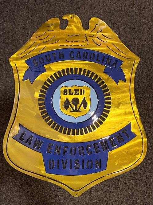 South Carolina Law Enforcement Division Badge - SLED