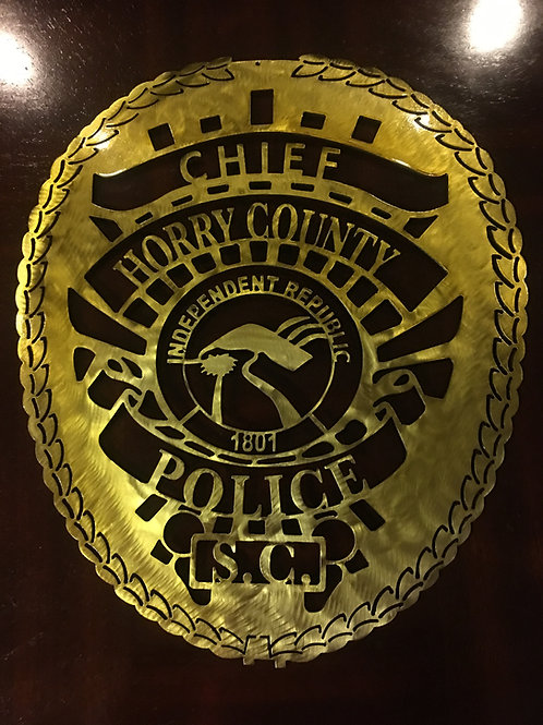 Horry County Police Officer Badge