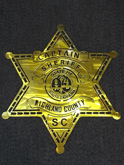 Richland County Sheriff Badge