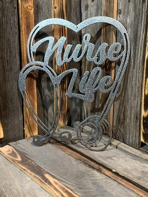 Nurse Life Heart Stethoscope