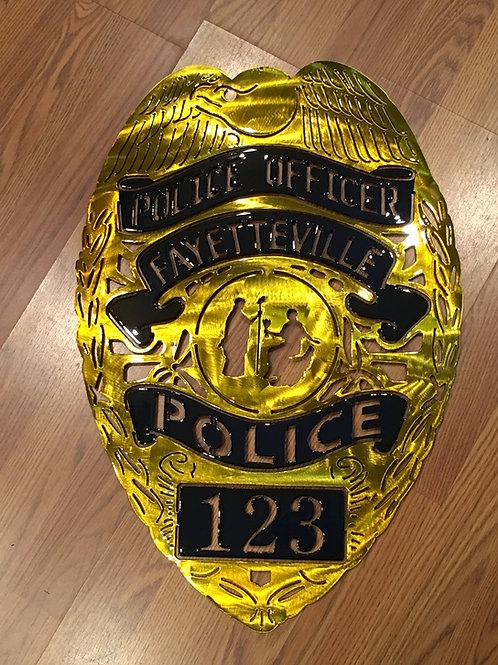Fayetteville North Carolina Police Badge