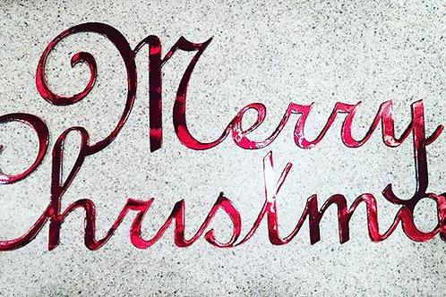 "Merry Christmas - 20"""