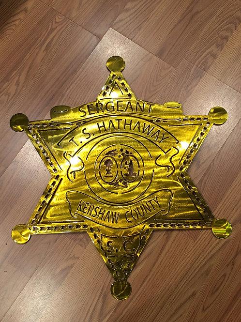 Kershaw County Sheriffs Badge