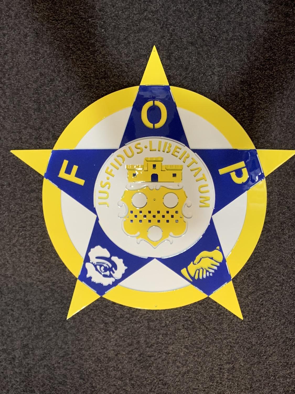 Thumbnail: F. O. P. Badge