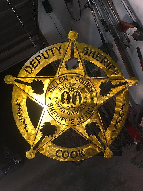 Dillon County Deputy Sheriff Badge