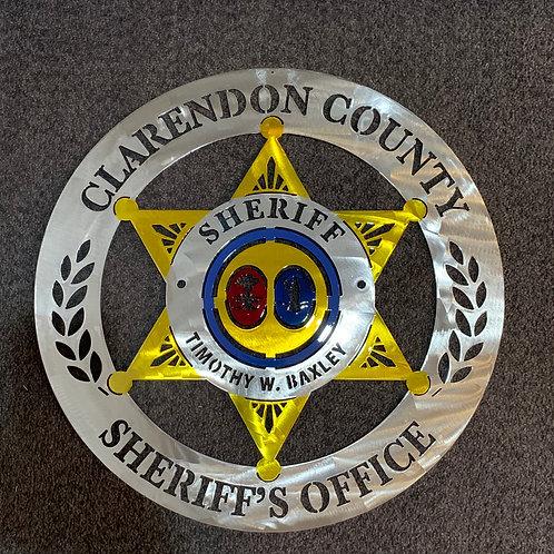 Clarendon County Sheriff Badge
