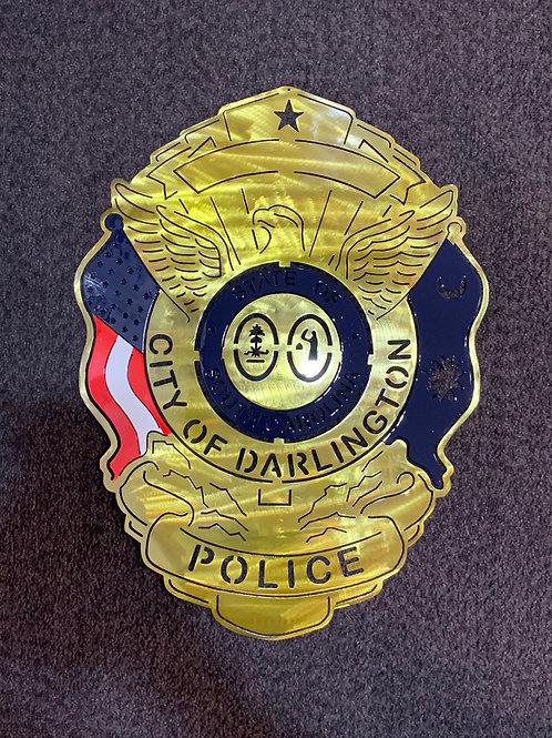 Darlington City Police Badge
