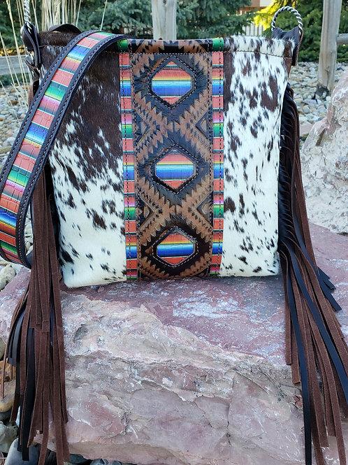 Serape Aztec Crossbody Bag