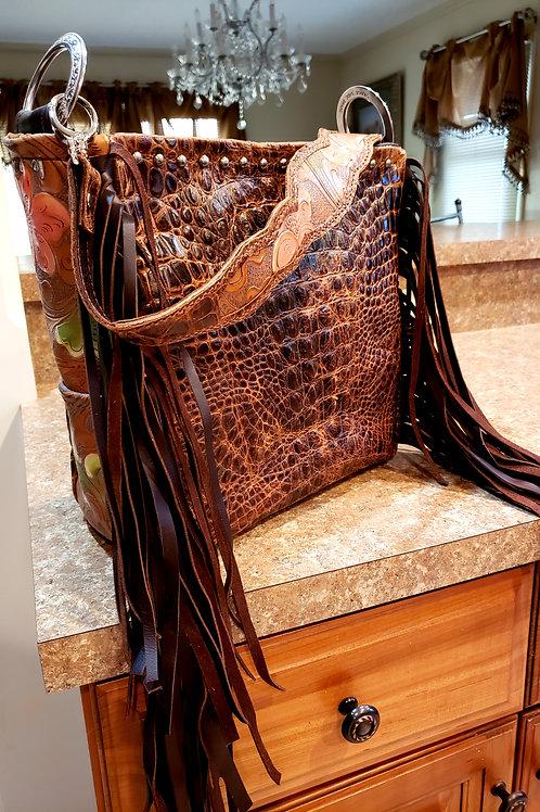 Carmel Floral Shoulder Bag
