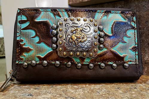 Pre order Bronc organizer wallet. Ships in one week.