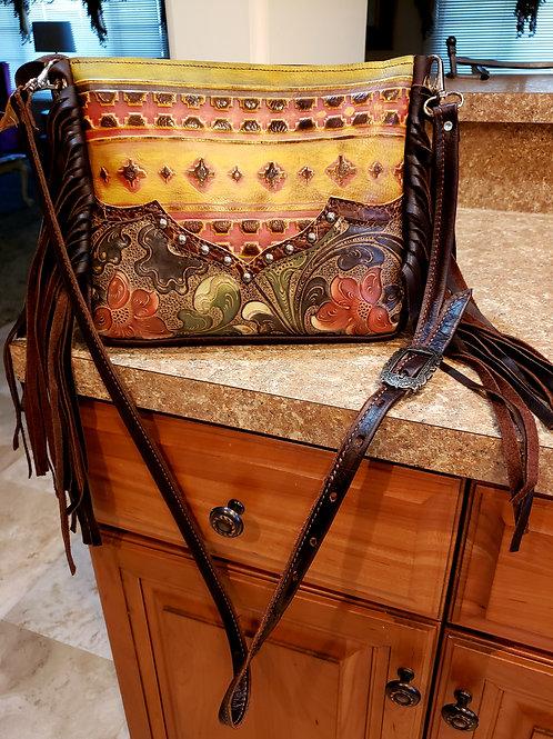 Arizona Sunrise Desert Style Crossbody Bag