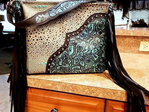 Rose Galaxy Shoulder Bag