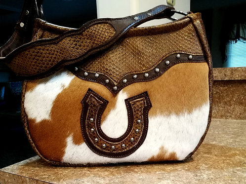 Horse Shoe Shoulder Bag