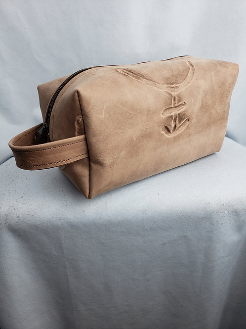 Branded Leather Travel Kit