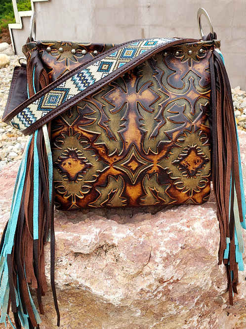 Beaded Laredo Shoulder Bag