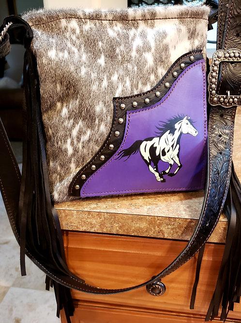 Paint Horse Crossbody  Bag