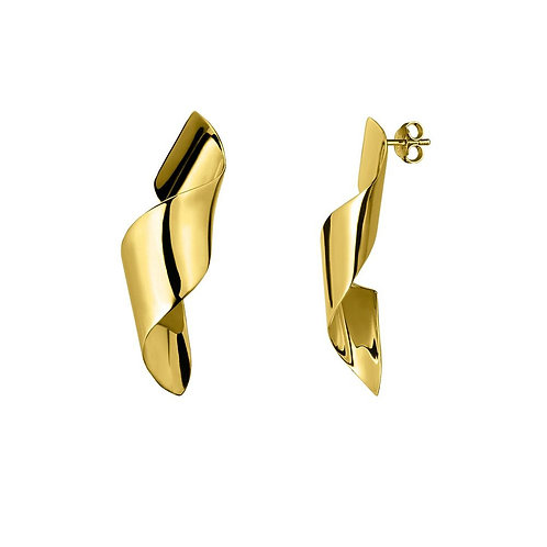 Virtue Earrings - Gold