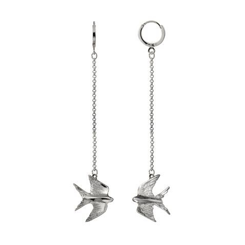 Silver swallows