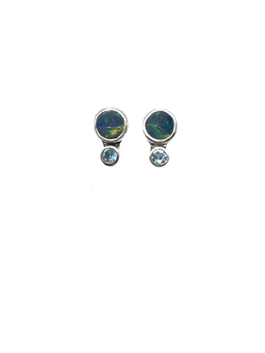 Pallah-Pallah Opal Earrings