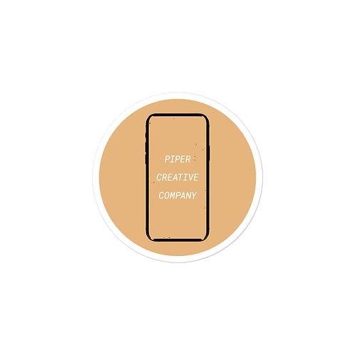 Piper Creative Company Show Your Support Sticker