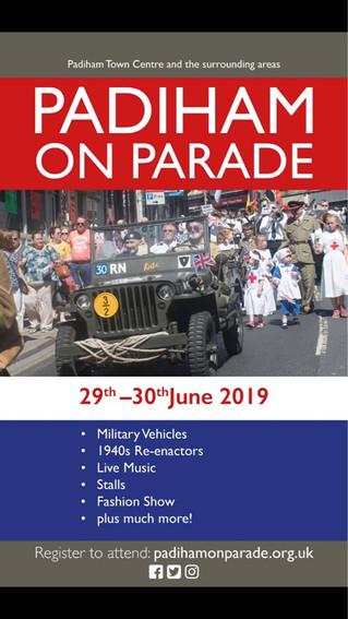 Padiham on parade