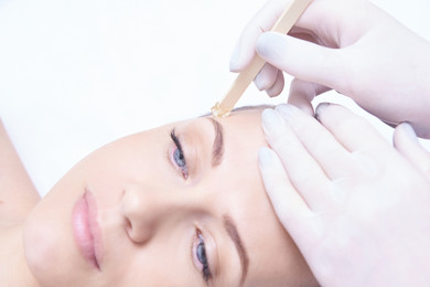 Hair removal. Cosmetic procedure. Beauty