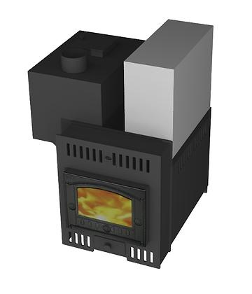 Банная печь Борисыч-2.4.1