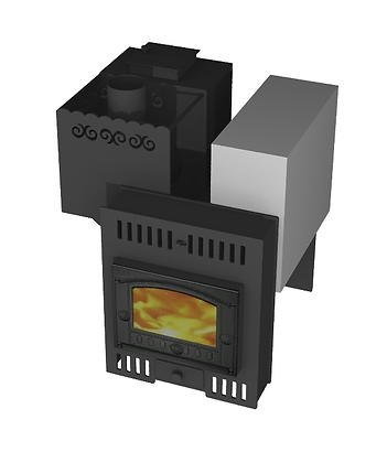 Банная печь Борисыч-1.3.2