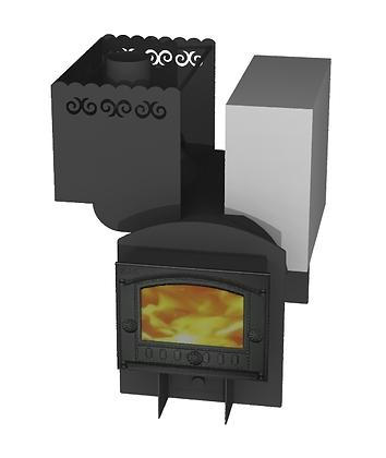 Банная печь Борисыч-1.2