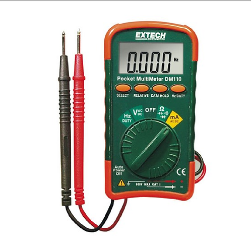 DM110: Minimultímetro de bolsillo