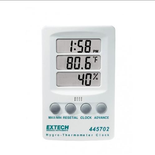 445702: Reloj higrotermómetro