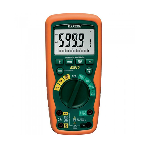 EX510: Multímetro industrial para trabajos pesados con funciones