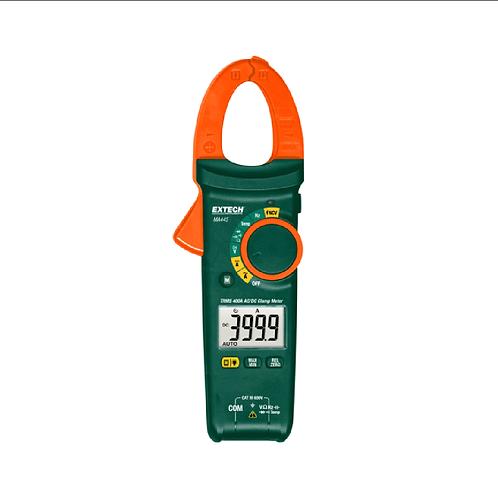 MA445: Pinza amperimétrica de CA/CC de RMS (media cuadrática) verdadera de 400 A