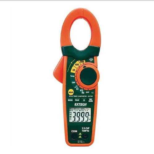 EX730: Pinza amperimétrica de CA/CC de 800 A