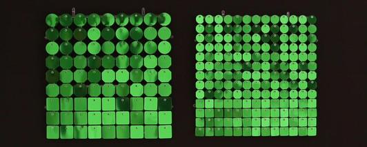 Цвет: зеркальный зеленый