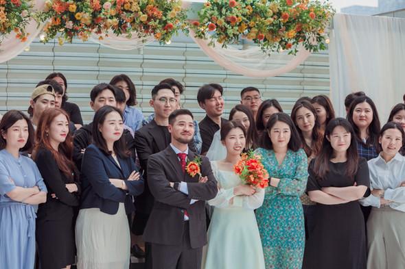송도 오라카이 야외결혼식