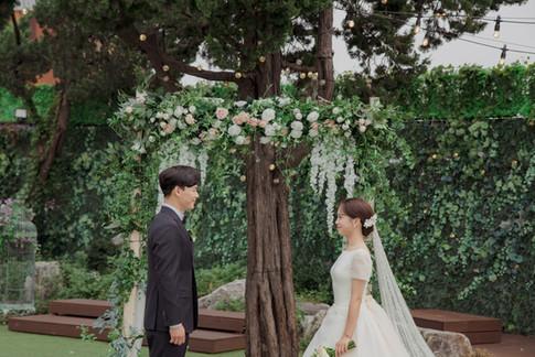리움하우스 야외결혼식