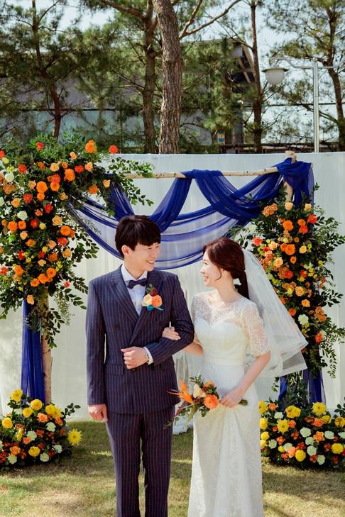호텔푸르미르 야외결혼식