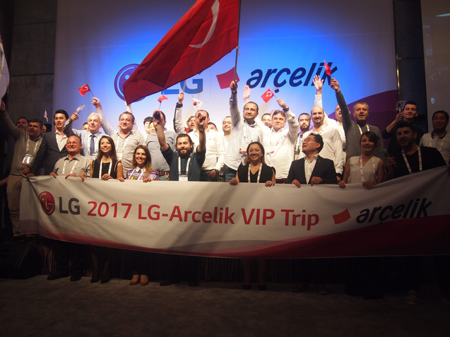 2017 LG Turkey VIP Tour