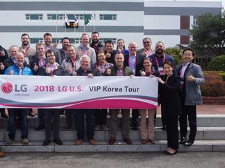 2018 1차 LG U.S. VIP Tour
